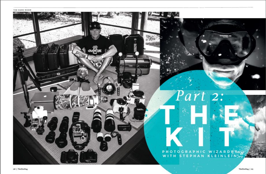 "The KITE mag Issue 4 with Stephan's ""THE DARK ROOM"" Part3 is out"