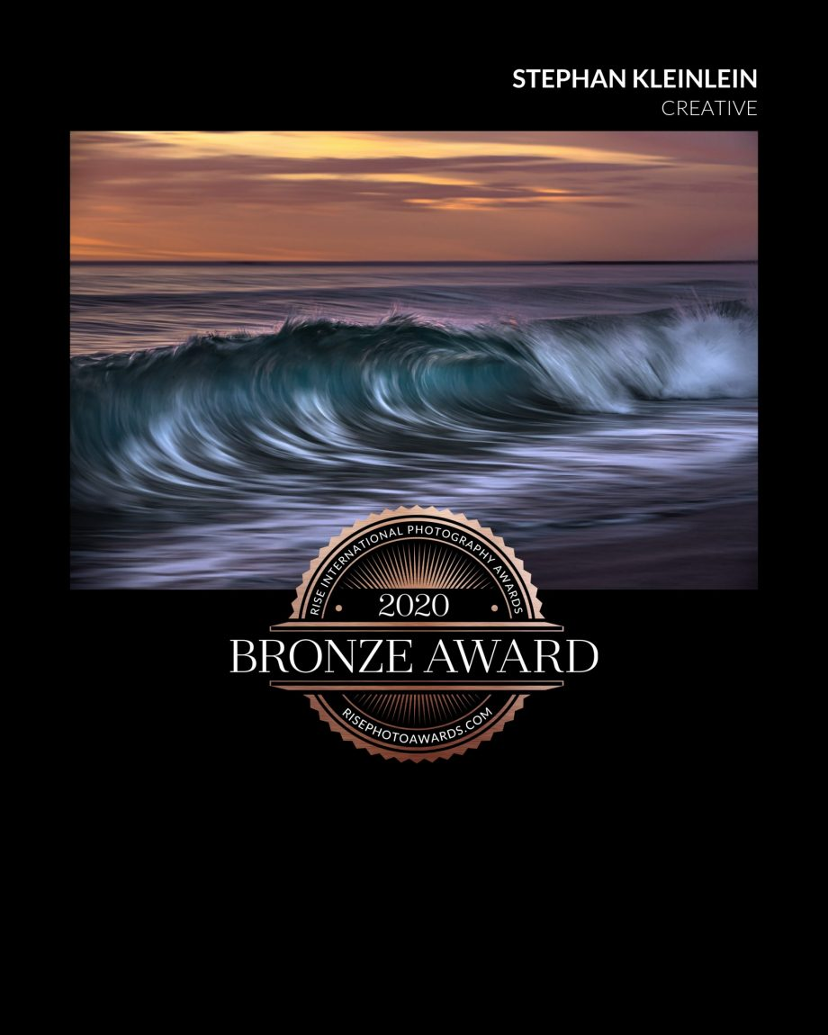 RISE International Photography Competition -Bronze Award 2020