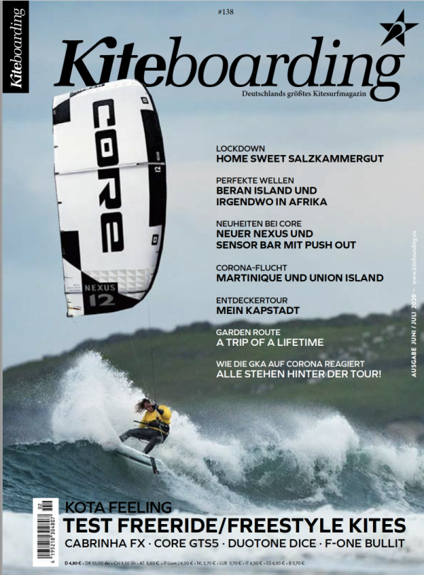 Tanz auf dem Vulkan (Dance on the Volcano) Kiteboarding Magazine