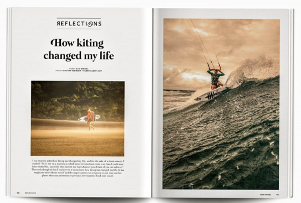How Kiting Changed My Life – THE KITEMAG.